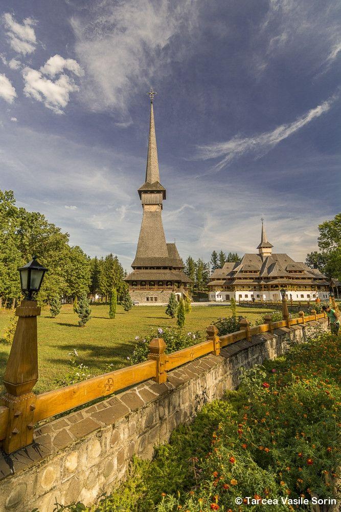 Săpânța-Peri monastery at Săpânța-Maramures by Tarcea Vasile Sorin