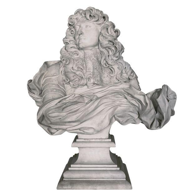 Людовик XIV.Бюст работы Бернини, 1665.