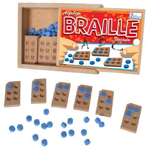 How fun! Little braille peg boards! *Visit pinterest.com/wonderbabyorg for more braille ideas!