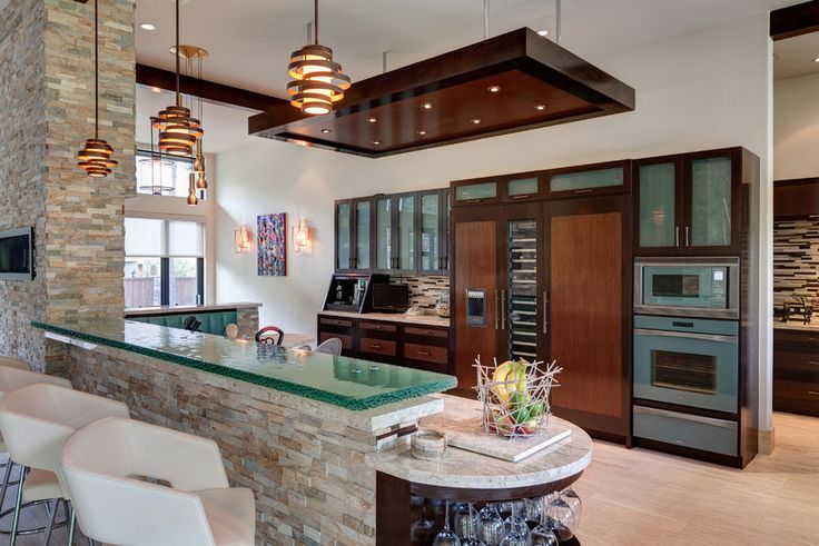 Barra #cocina #cubierta #vidrio #templado #diseño #decoracion ...