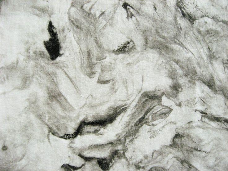 Cómo fácilmente pintar su propio tejido de mármol falso usando la crema de afeitar.