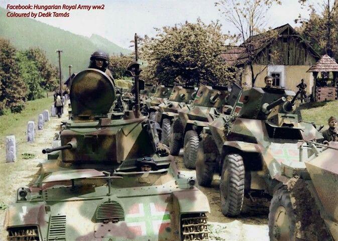 Csaba Armoured Cars.