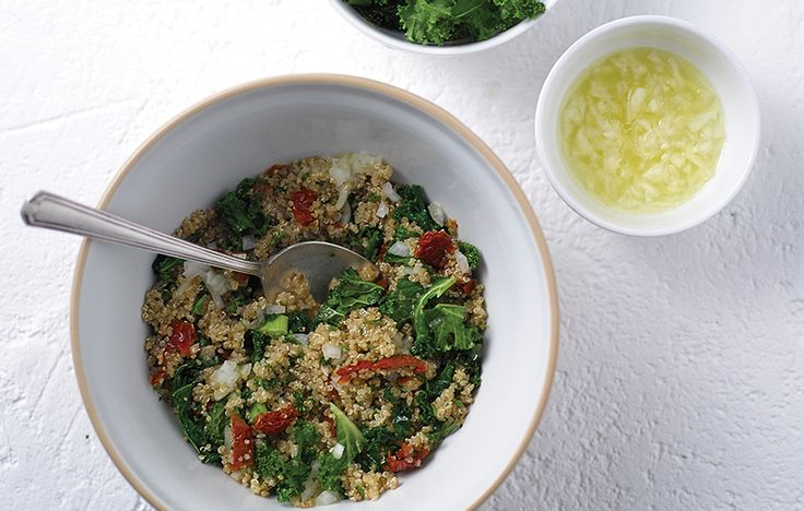 Kale tabbouleh salad. Follow link for full recipe from appetite, North East England's dedicated food & drink publication.