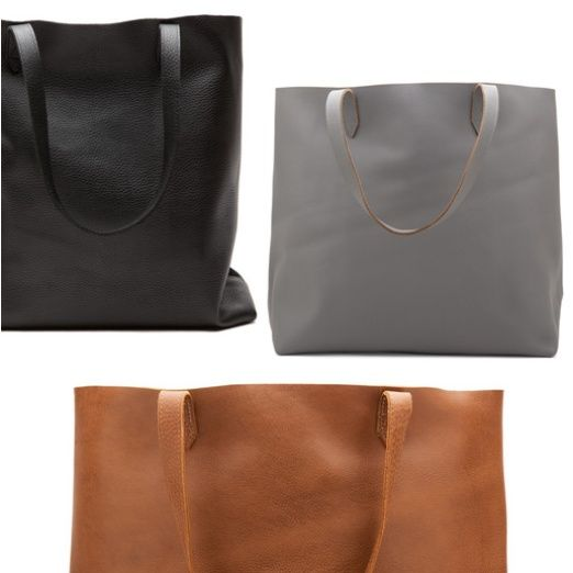 Rank & Style Top Ten Lists   Cuyana Leather Tote  http://www.rankandstyle.com/top-10-list/best-gifts-to-keep-it-classy-chic-and-charming/