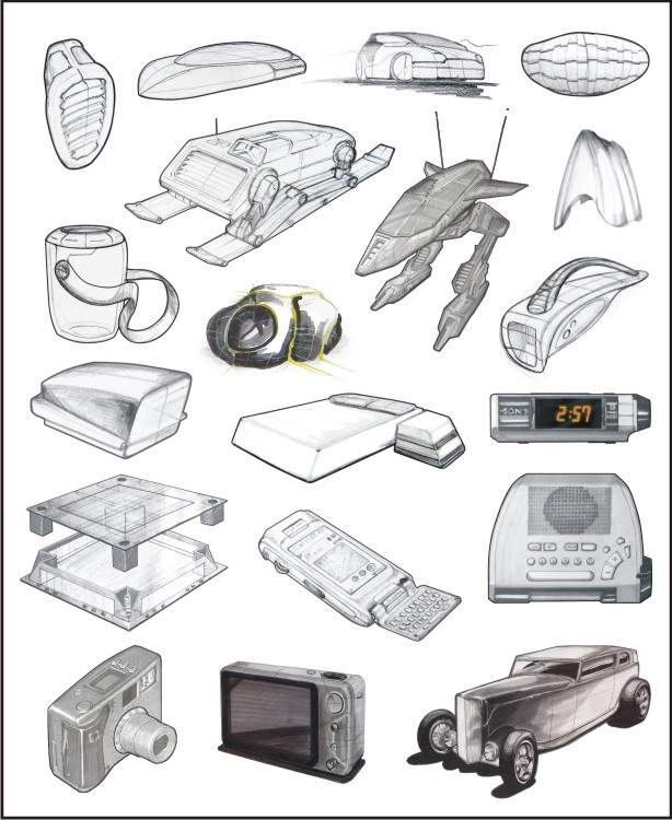 industrial design sketch