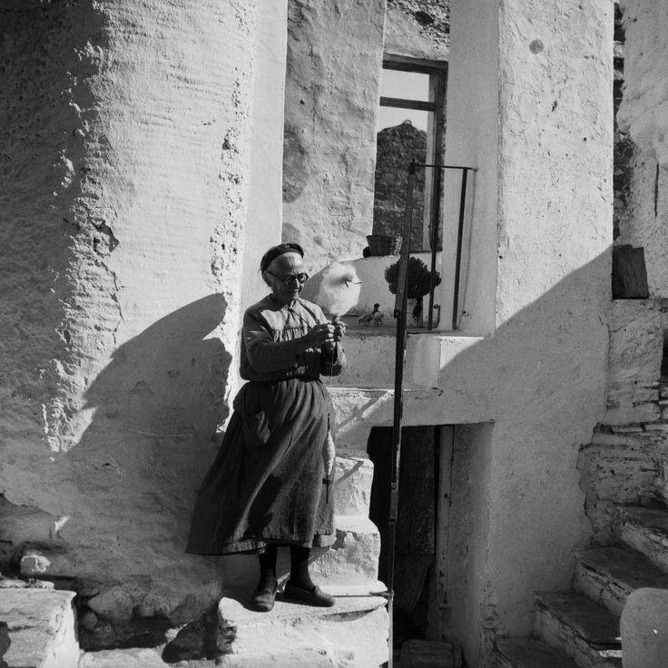 Naxos. 1953 Photo by Eleni Prokopiou