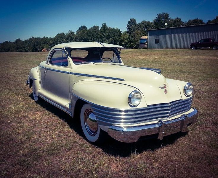 1942 Chrysler Windsor Business Man's Coupe- Very rarely do you see a 1942-model automobile, but even less rare is a 1942 Chrysler Windsor C-34 Business Coupe. It's one of only 250 3-window coupes built in '42 as production was stopped on January 1 because of WWII...