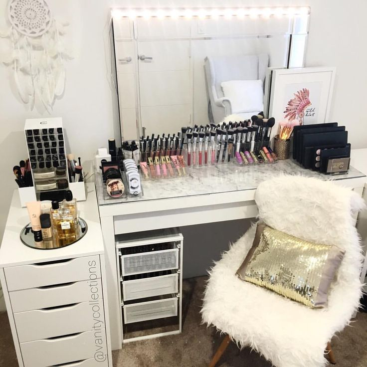 How To Makeup Vanity Set With Lights: 25+ Best Ideas About Ikea Vanity Table On Pinterest
