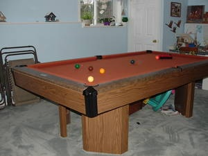 Brunswick Ranchero This Pool Table Was Solid In Canada In Mainly A Snooker  Pocket. It
