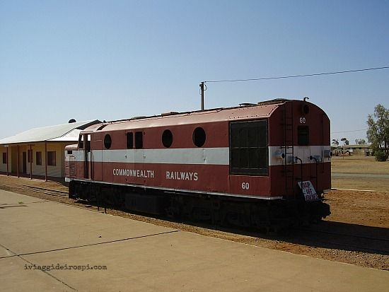 The Old Ghan - Oodnadatta Track