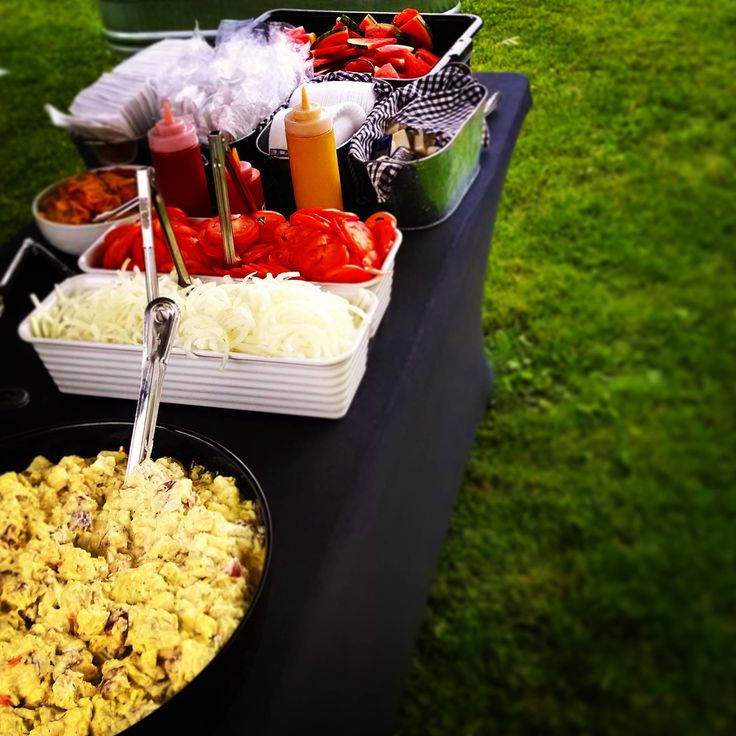 #Delicious #vegetarian food at our annual #summerBBQ #party! #lifestyled #thetorontonian