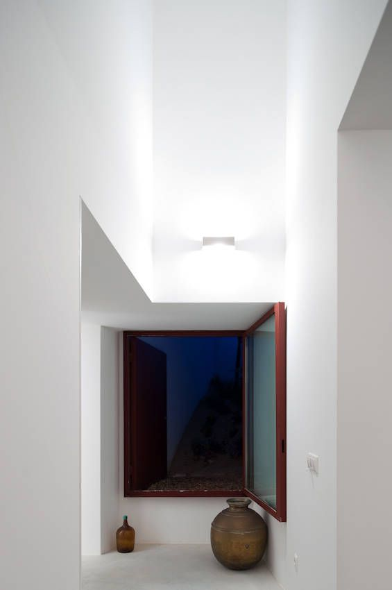 Interior of the House Of Agostos by Pedro Domingos Arquitectos.