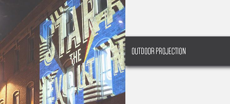 URBAN PROJECTIONS | Projection Artist | Visuals | VJ | Video Mapping