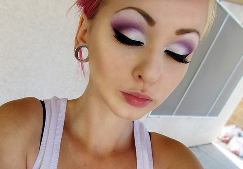 Pretty.Colors Makeup, Eye Makeup, Eye Colors, Eye Shadows, Beautiful, Makeup Ideas, Makeup Eye, Eyemakeup, White Eyeshadows