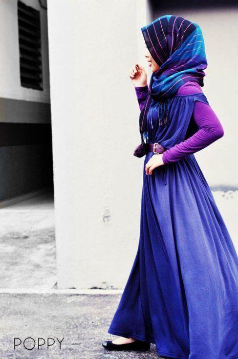 Purple maxi.