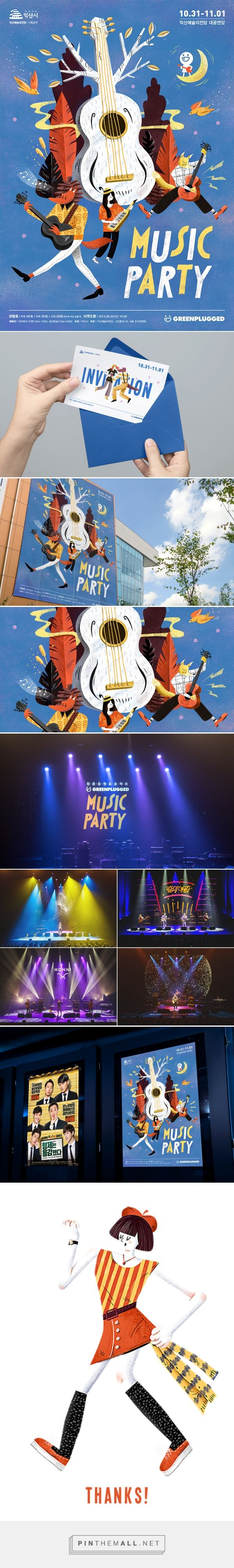 Iksan Music Party concert 2016 by greenplugged on Behance - created via https://pinthemall.net