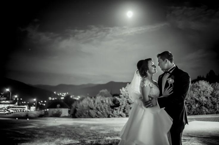 foto nunta noapte