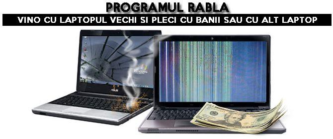 http://laptopsecond-hand.ro/programul-rabla-laptop/ Cumpara laptop second hand prin programul rabla si ai discount garantat minim 200 lei.