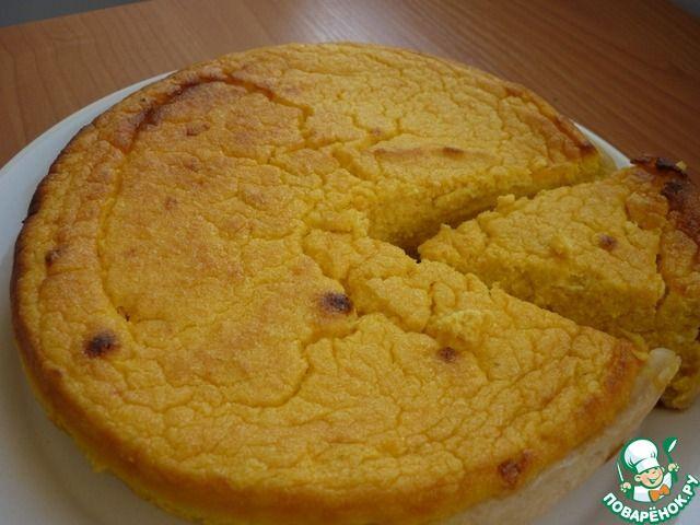 """Тыквенный торт-пирог """"Для талии"""" ингредиенты"""