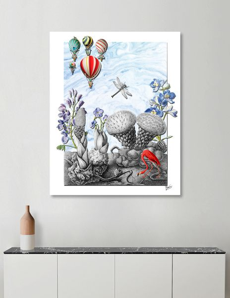 Discover «THE VISITORS», Numbered Edition Acrylic Glass Print by Gloria  Sánchez - From 70€ - Curioos