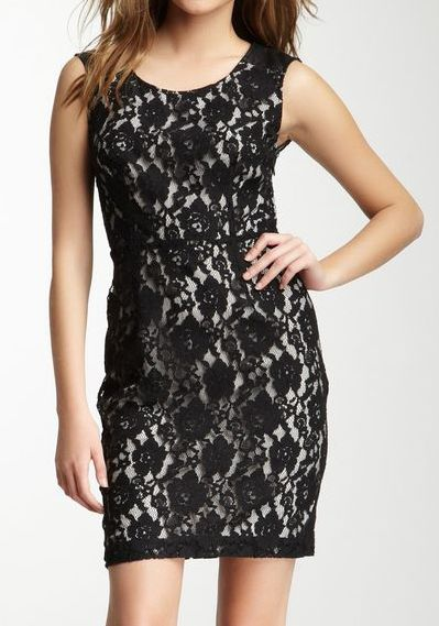 DKNY Jeans Cotton Lace Dress