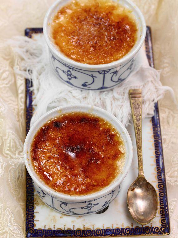 Creme brulee #słodkości #smakołyk #deser #przepisy #waniliowe #kremówka #jajka #krem #POLOmarket