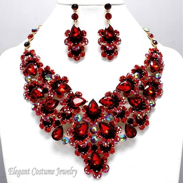 Red Elegant Costume Jewelry Www Themarried Hearted 3 Pinterest And