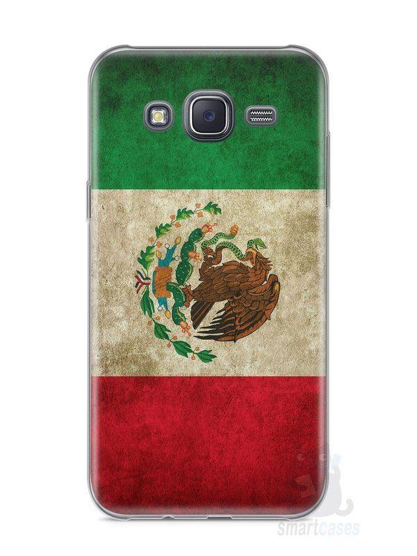 Capa Samsung J5 Bandeira do México - SmartCases - Acessórios para celulares e tablets :)