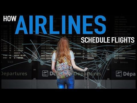 How Airlines Schedule Flights - YouTube