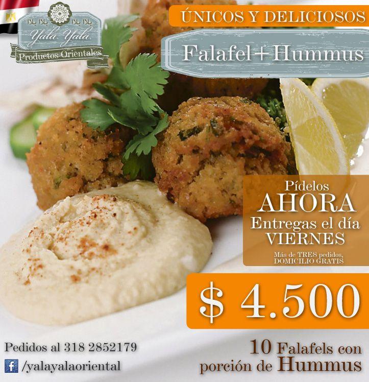Falafel + Hummus :: Únicos y Deliciosos