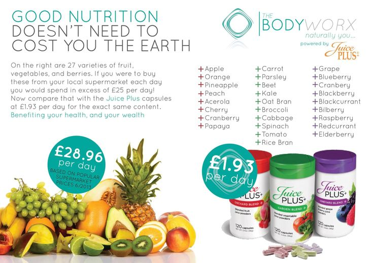 Juice Plus capsules VS supermarket prices! I can't afford to spend the money that it would cost to get myself and my family 27 portions of fruit and veg a day - but I can bridge the gap between what we eat and what our bodies need with #JuicePlus