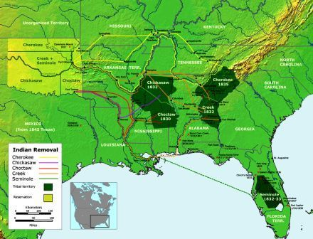 Trail of Tears                  The Indigenous People of the United States  Discover interesting facts and information about the history and culture of Native American Indians and their tribes