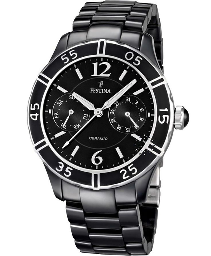FESTINA Ladies Ceramic Bracelet Τιμή: 280€ http://www.oroloi.gr/product_info.php?products_id=38799