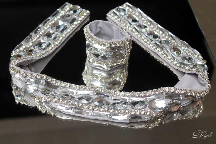 Belt: 150 ron, Bracelet: 60 ron