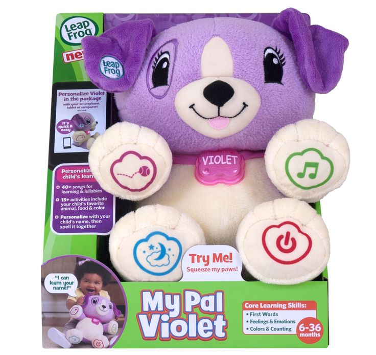 LEAPFROG - We love My Pal Violet! She's cute and cuddly and will help your child learn!