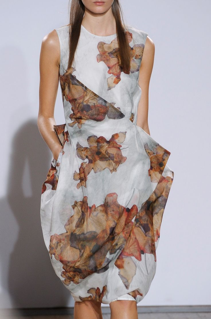 Nicole Farhi at London Fashion Week Spring 2013