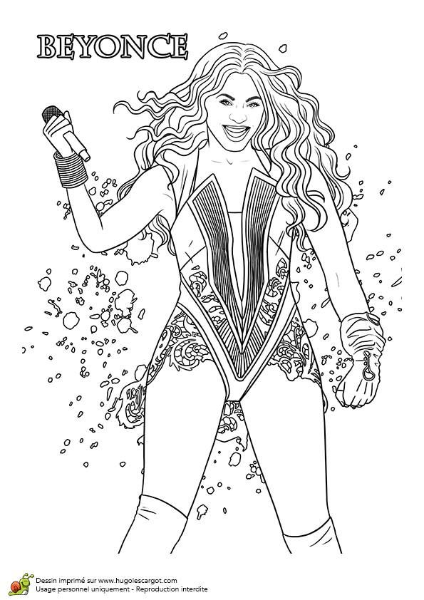 colouring pages beyonce jouer il sera public drawings beautiful color the mode - Beyonce Coloring Book