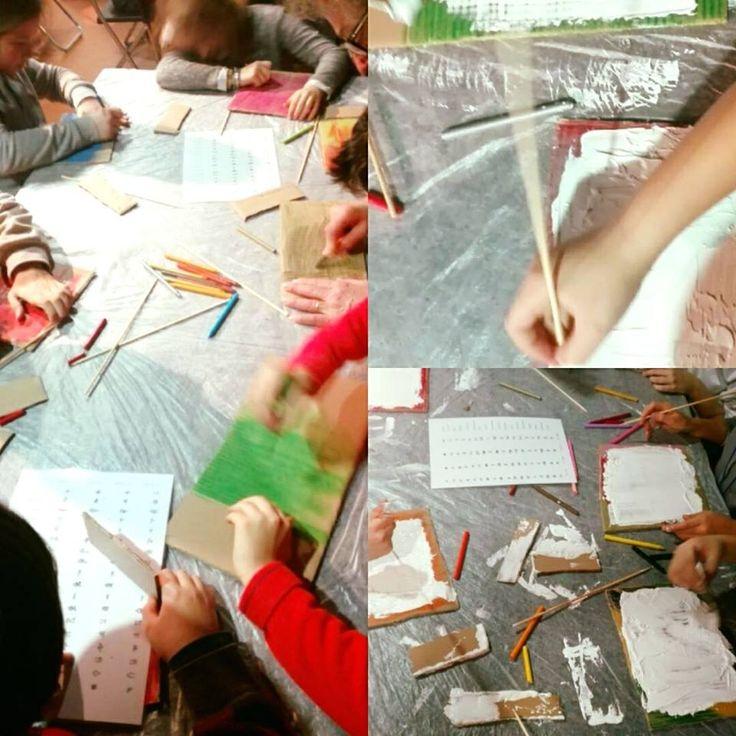 Segno o disegno? #laboratorio didattico per le #scuole