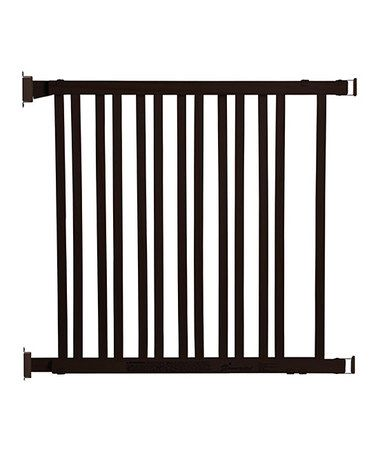 Take a look at this Espresso Wooden Gate by Dream Baby on #zulily today!