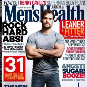 Henry Cavills Superman Body Plan in Mens Health UK Magazine