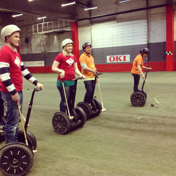 Time for Segway Polo