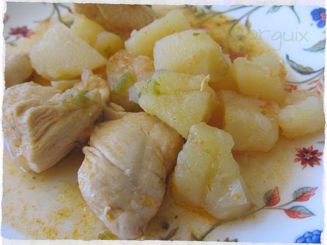 Mejores 71 im genes de recetas para mi olla kuhn rikon en pinterest cocinas guiones y platos - Patatas en olla rapida ...