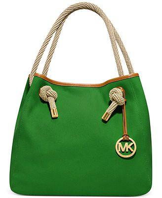 WANT!!! MICHAEL Michael Kors Marina Large Grab Bag, but in PURPLE!