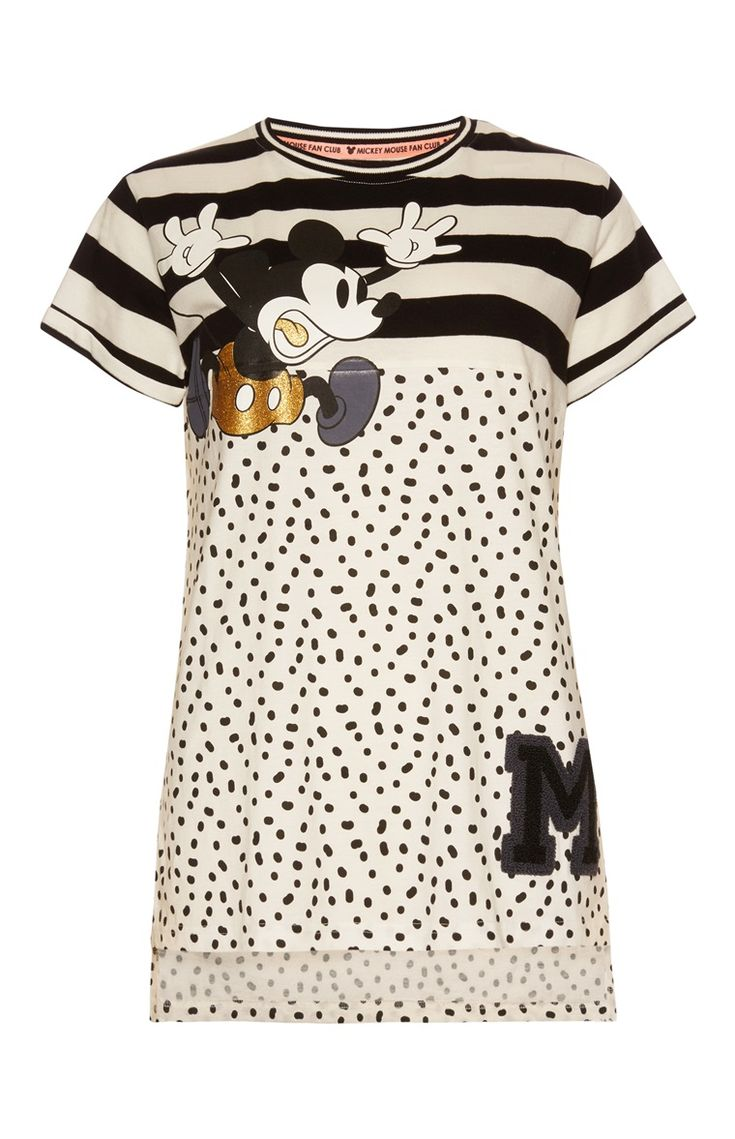 Primark - Mickey Mouse Varsity PJ Top £6.00