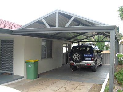 25 best ideas about free standing carport on pinterest for Carport with shed attached