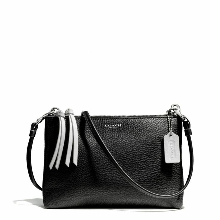 4e75511289cd ... clearance coach journal crossbody in bicolor pebble leather macys love  the look pinterest shop leathers and
