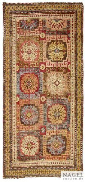 Turkestanian Khotan rug, 18th c