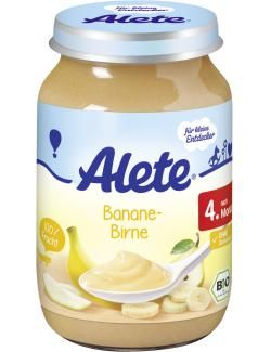 myTime.de Angebote Alete Banane & Birne: Category: Baby > Babynahrung > Früchte & Getreide Item number: 4502130539 Price:…%#lebensmittel%