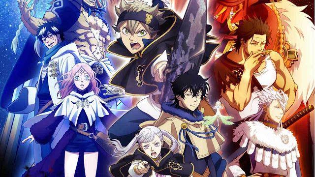 Dark Black Clover Anime HD Wallpaper | Black clover anime ...