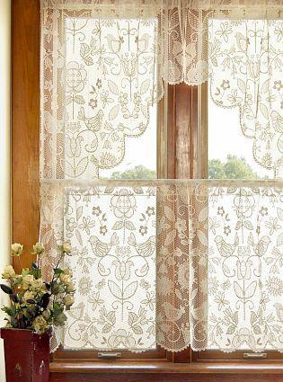 Más de 1000 imágenes sobre cortinas estilo romantico en pinterest ...